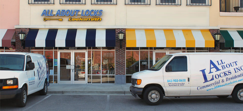 Welcome To All About Locks, Myrtle Beach Locksmith